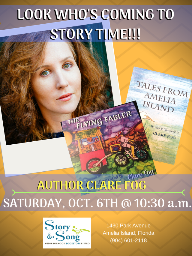 LOOK WHO'S COMING TO STORY TIME!!! -CFog